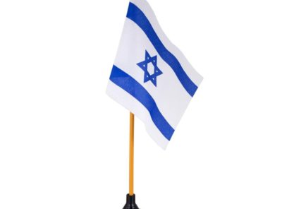 4 in x 6 in Jewish / Israel Mini-Flag