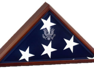 Vice Presidential Flag Case – Cherry Finish