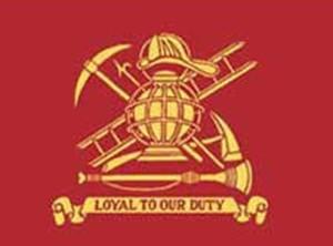 Fireman Loyal nylon flag, 3 ft x 5 ft
