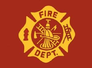 Fire Department Nylon Flag, 3 ft x 5 ft