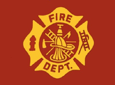 Fire Department Nylon Flag, 3 ft x 5 ft
