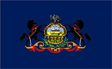 2' x 3' Pennsylvania Nylon Flag