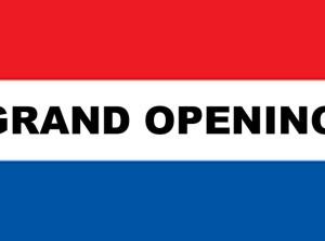 3' x 5' GRAND OPENING nylon flag