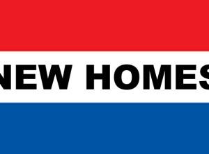 3' x 5' NEW HOMES nylon flag