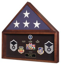 Flag / Memorabilia Case for 5' x 9.5' Flag