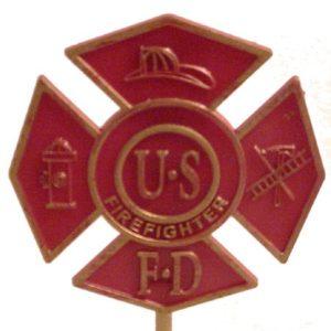 Firefighter (Red)... Gravemarker
