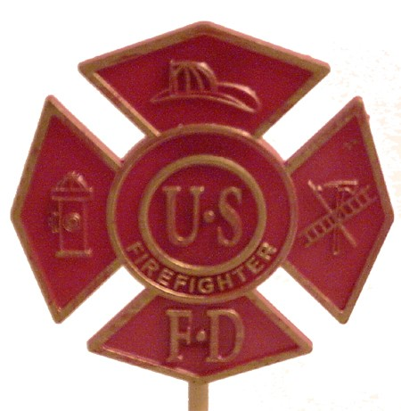 Firefighter (Red)... Gravemarker
