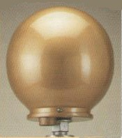 Gold Ball-Truck Assembly - substitute for standard cone truck with ball-No Added Charge