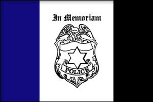 3' x 5' Police Mourning Flag