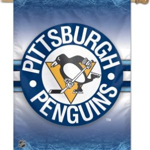 Pittsburgh Penguins Outdoor Banner (Blue)