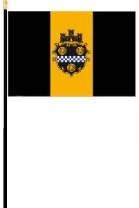 "4"" x 6"" Pittsburgh Min-Flag"