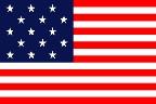 2' x 3' Star Spangled Banner (Nylon. Printed stripes & printed stars)