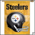 "Steeler Banner (Gold), 27"" x 37"""