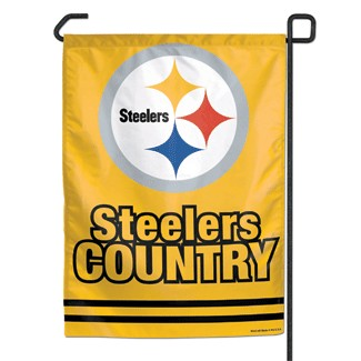 Steelers Country Garden Flag