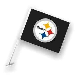 Classic Steeler Car Flag