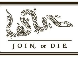Join or Die Flag