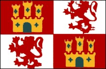 3' x 5' Royal Standard of Spain (Lions and Castles) nylon flag