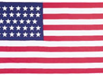 34-Star Union Civil War Flag (sewn)