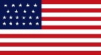 21-Star U.S. nylon flag (1819-1820) [ IL ] --- click button to see sizes & prices