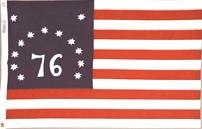 Bennington nylon flag
