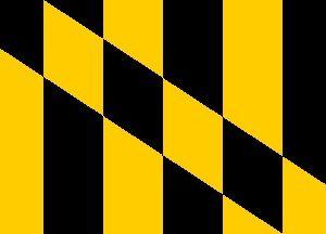 3' x 5' Lord Baltimore nylon flag