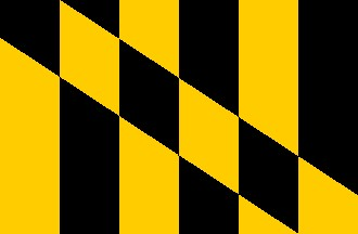 3' x 5' Lord Baltimore nylon flag