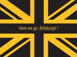 3' x 5' Here We Go Britsburgh Flag