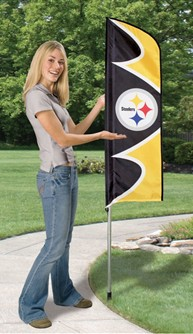 Steelers Swooper Flag Kit