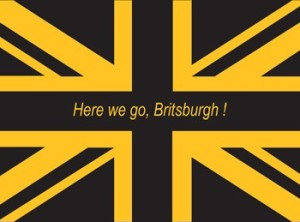 Here We Go Britsburgh Flag - SHIPPED OUTSIDE USA