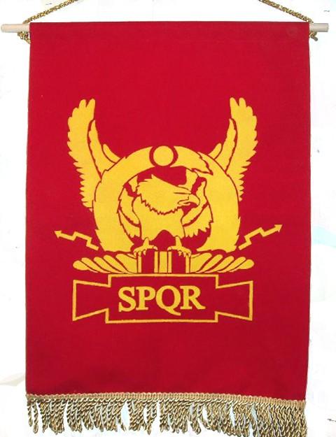 SPQR - Eagle (wings upright)