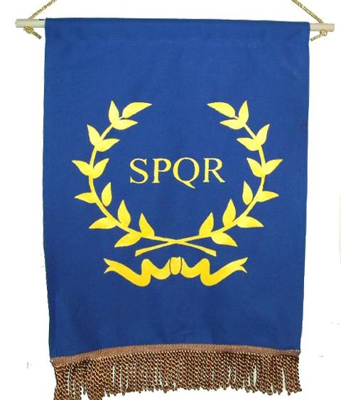 SPQR - Wreath (Blue)