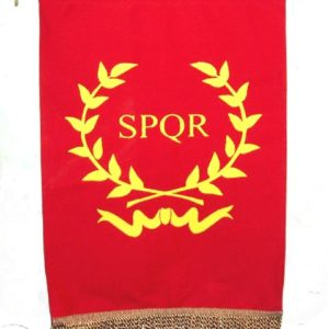 SPQR - Wreath (Red)