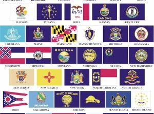 4' x 6' State Flag (Price Code A)