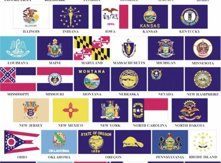 5' x 8' State Flag (Price Code A)
