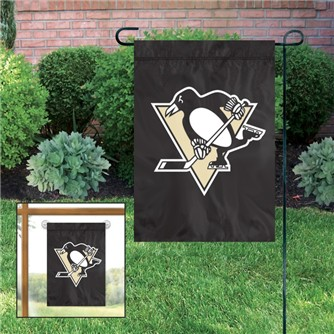 Pittsburgh Penguins Applique Garden / Window Flag