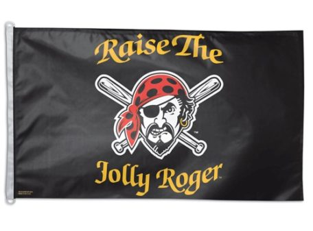 "Pittsburgh Pirates 3' x 5' Flag - ""Raise the Jolly Roger"""