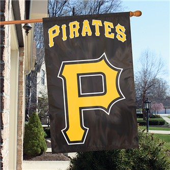 Pittsburgh Pirates Double-sided Applique Banner