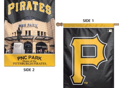 Pittsburgh Pirates Double-sided Banner -- P / PNC Park