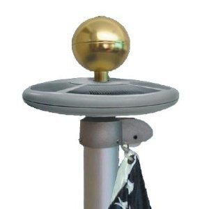 Solar Flagpole Light - Top mount