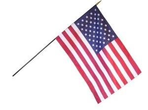 Classroom U.S. Flag on Staff