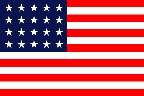 20 star U.S. flag