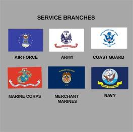 Military Flags - Outdoor Nylon