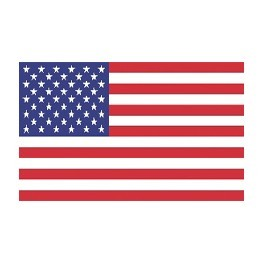 3' x 5' U.S. Banner-Style Nylon Flag