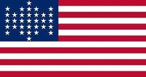 33-Star Ft. Sumpter Flag (printed), 3 ft x 5 ft