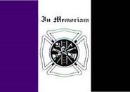 Fireman Mourning Flag (3' x 5')