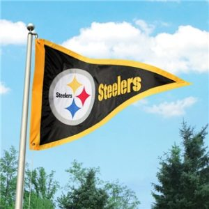 3 ft x 5 ft Steeler Pennant Flag