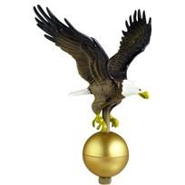 """Flagpole Eagle, 12"""" x 12"""""""