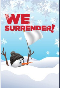 We Surrender (to Winter) banner