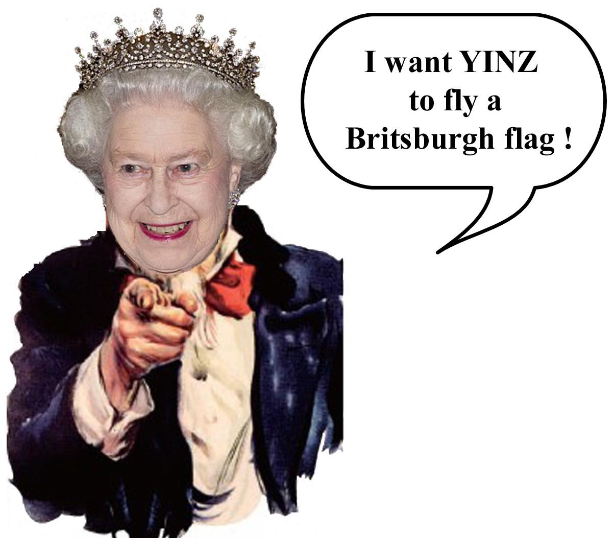 3' x 5' Britsburgh Nylon Flag