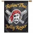 "Pittsburgh Pirates Jolly Roger 27"" x 37"" Banner"